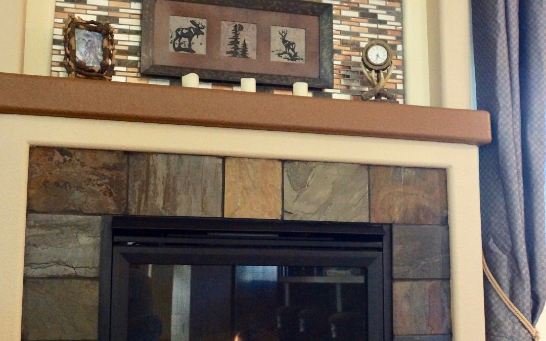 Custom Fireplace Refit