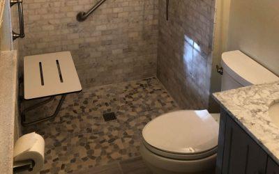 Zero Entry Bath Remodel